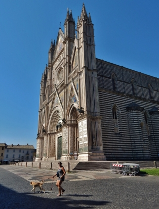 Orvieto Cathedral is mind-blowing. And I haven't even entered.